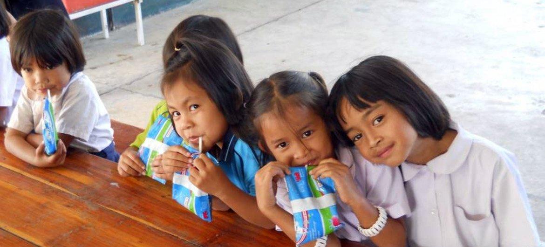 Un tercio de los niños en los países de Asia-Pacífico sufren retraso en el crecimiento por desnutrición. Foto: FAO/ Vinod Ahuja
