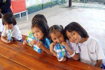 Новое исследование посвящено проблеме недоедания в странах Азиатско-Тихоокеанского региона. Фото ФАО/Винод Ахуйя