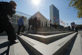 مقر الأمم المتحدة في مدينة نيويورك. المصدر: الأمم المتحدة / يوبي هوفمان