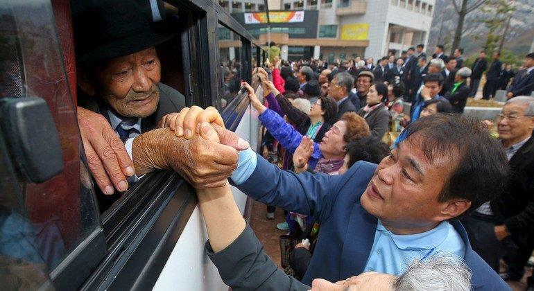 Casi 130.000 surcoreanos se han registrado desde 1953 para reunirse con sus familiares en Corea del Norte. Más de la mitad fallecieron sin conocer el paradero de sus parientes. Foto: Alto Comisionado de la ONU para los Derechos Humanos