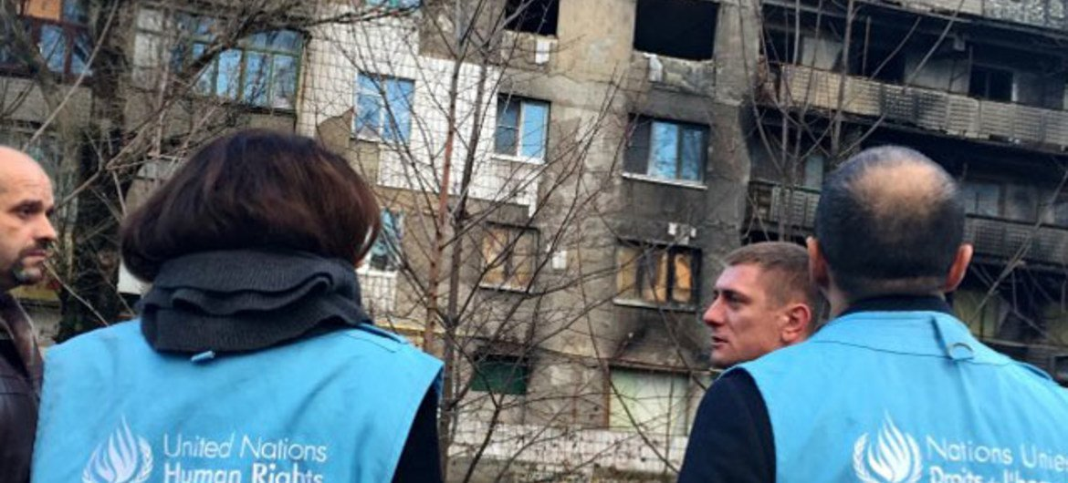 New UN Human Rights report says total number of casualties in Ukraine since the conflict started close to 10,000.
