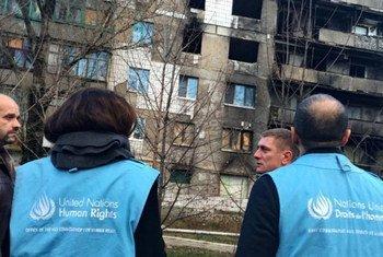 В новом докладе ООН по правам человека приведены последние цифры погибших в результате конфликта на востоке. Фото  УВКБ