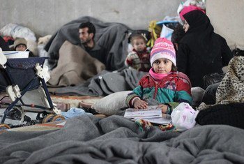 Перемещенные лица в Алеппо. Фото ЮНИСЕФ
