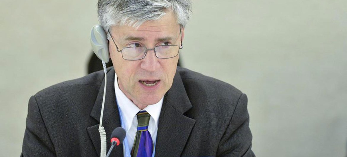 Special Rapporteur on Human Rights and the Environment John Knox.