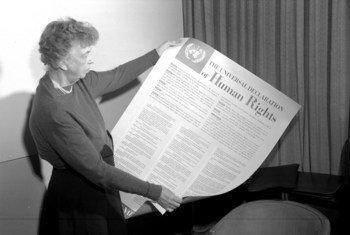Элеонора Рузвельт сыграла ключевую роль в создании Всеобщей декларации  прав человека