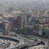 مشهد جوي لمدينة القاهرة، العاصمة المصرية. (أرشيف)