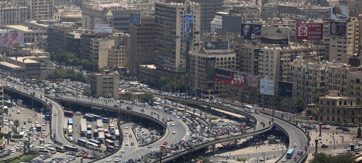 埃及首都开罗。