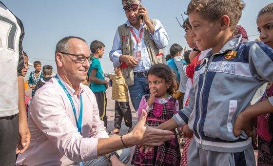 Diretor regional do Uncef lembra que sofrimento de milhões de crianças no Iémen é causado pelo homem.