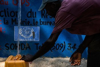A water capture and distribution project in the town of Merger, an hour outside of Port au Prince, Haiti. Funded by the UN Stabilization Mission in Haiti (MINUSTAH), the project will supply water through 12 kiosks, allowing access to clean water to 60, 000 people a day.