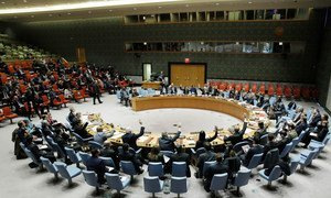 The Security Council unanimously adopts resolution on threats to international peace and security caused by terrorist acts.