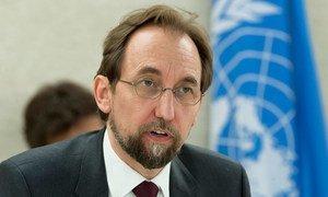 Le Haut-Commissaire des Nations Unies aux droits de l'homme, Zeid Ra'ad Al Hussein. Photo ONU/Jean-Marc Ferré
