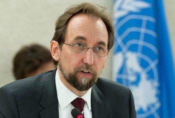 Alto comissário para os Direitos Humanos, Zeid Ra'ad Al Hussein.