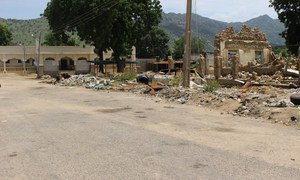 Gwoza town, in Borno state, northeast Nigeria, was razed to the ground during conflict with Boko Haram. The task ahead to rebuild basic infrastructure, health clinics, schools, water and sanitation, and shelter requires funding.