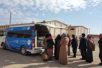 Эвакуация больных и раненых из восточного Алеппо. Фото ВОЗ