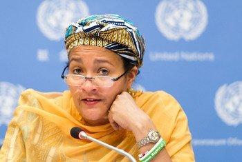 Amina J. Mohammed of Nigeria.
