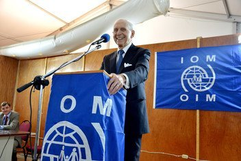 IOM Director General William Lacy Swing.