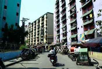 Des immeubles d'habitation à Tondo, dans la capitale Manille, aux Philippines. (archives).