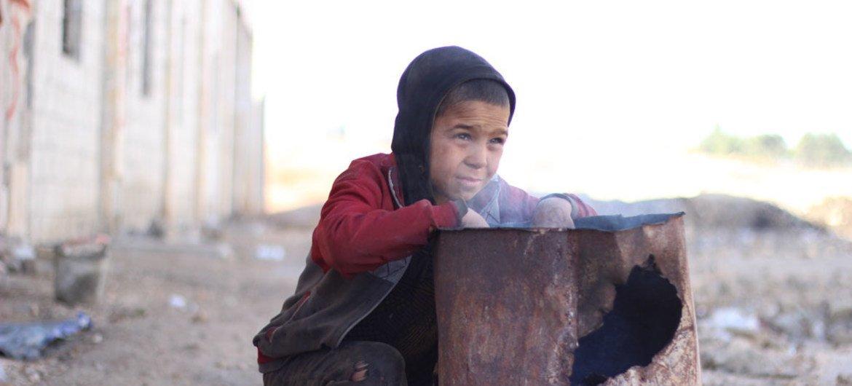 Ребенок в Сирии. Фото ЮНИСЕФ/Аль-Исса