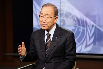 Secretary-General Ban Ki-moon sits down for a final interview before leaving office with the UN News Centre.