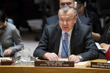 Глава Управления ООН по наркотикам и преступности. Фото ООН/М.Элиас