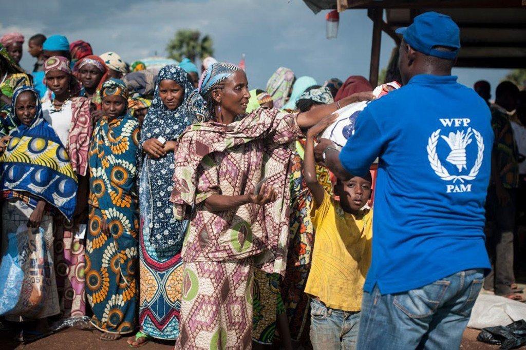 Le Programme alimentaire mondial (PAM) vient en aide aux personnes déplacées en République centrafricaine (RCA).