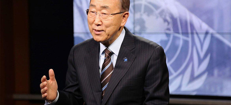 Secretario General Ban Ki-moon. Foto: Runa A