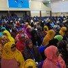 索马里新一届议会议员宣誓就职。联合国图片/Ilyas Ahmed