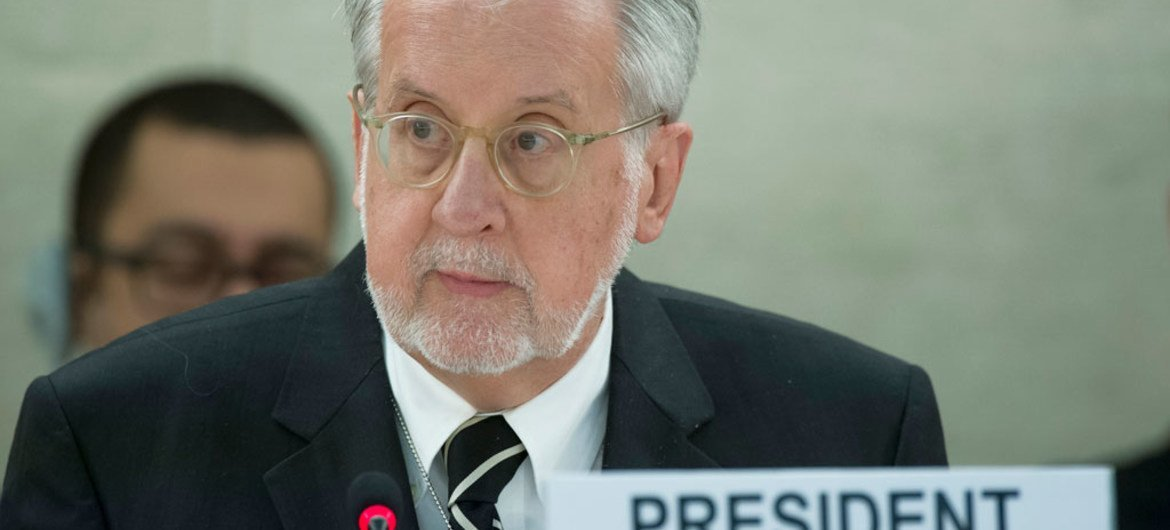 Chair of the UN Independent International Commission of Inquiry on Syria Paulo Pinheiro.