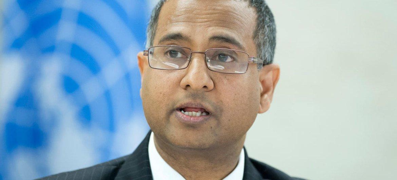 宗教或信仰自由问题特别报告员沙希德(Ahmed Shaheed)。
