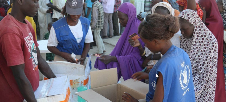 El PMA entregó ayuda alimentaria a más de un millón de personas en el noreste Nigeria. Foto: PMA/Amadou Baraze