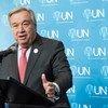 El Secretario General de la ONU António Guterres. Foto: ONU / Mark Garten
