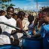 UNICEF and its partners, together with the government of Haiti, have been able to ensure safe water is available daily to over 281,000 individuals, including over 118,000 children, three months after hurricane Matthew struck the country on 4 October 2016.