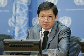 Ricardo Sunga, integrante del Grupo de Trabajo de la ONU sobre los Derechos de los Afrodescendientes. Foto: ONU/Evan Scheider