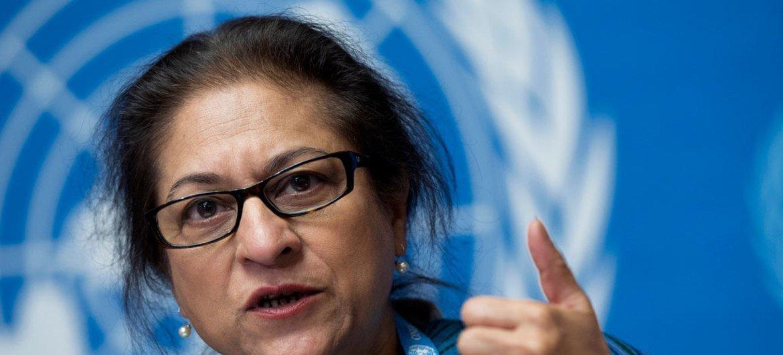 伊朗人权问题特别报告员贾汉吉尔。
