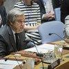 António Guterres, Secretario General de la ONU, en el Consejo de Seguridad. Foto: ONU/Manuel Elías