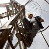Mirwais Zamkaniwal, encargado de la subestación del proveedor de energía Kabul Breshna de Afganistán.