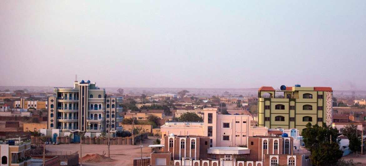 A panoramic view of Nyala, South Darfur, the second largest city in Sudan, after the capital, Khartoum.