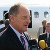 David Shearer, representante espacial de la ONU para Sudán del Sur. Foto de archivo: ONU/UNMISS
