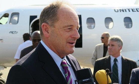 Representante especial do secretário-geral no Sudão do Sul, David Shearer
