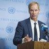 Председатель Совета Безопасности, Постоянный представитель Швеции при ООН Олаф Скуг
