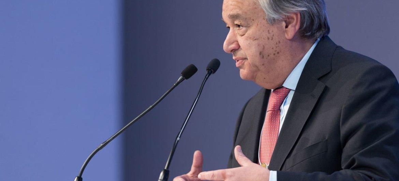 联合国秘书长古特雷斯。联合国图片/ Boris Baldinger