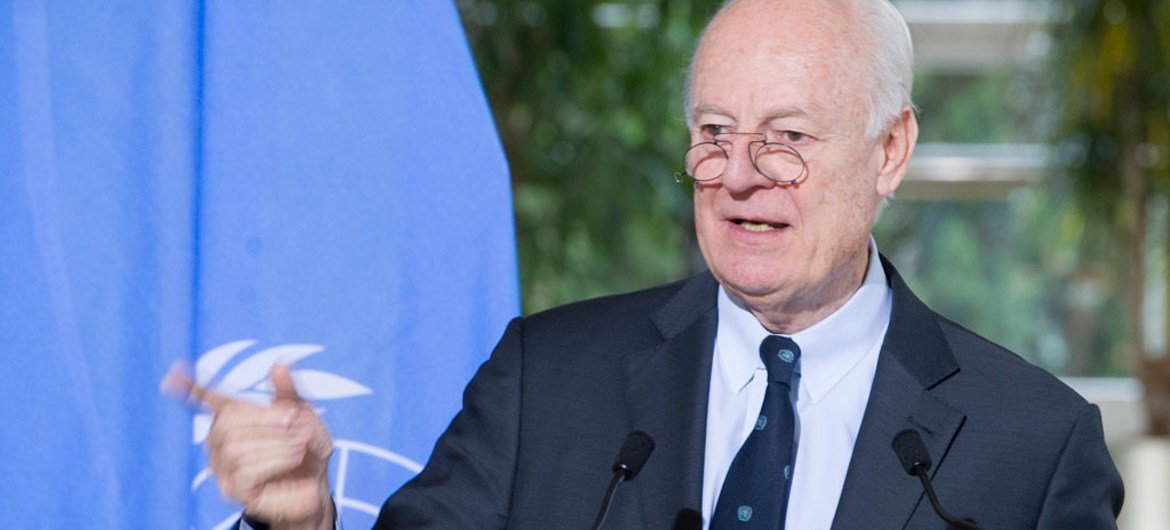 Syria Agreement On De Escalation Zones Could Lift Un Facilitated