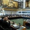 联合国裁军谈判会议会议现场(资料)。