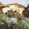 Evacuación de un casco azul de la MINUSMA herido en el campamento de Kidal, Mali. Foto: MINUSMA