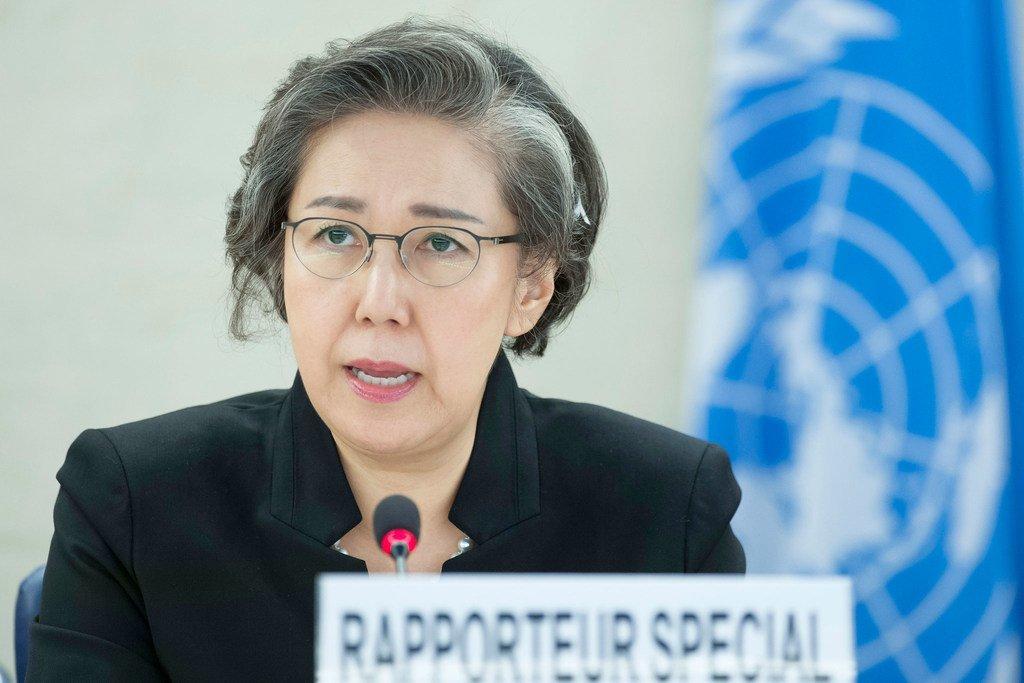 联合国缅甸人权状况特别报告员李亮喜。