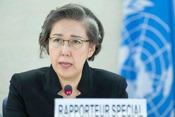 Mjumbe maalum wa haki za binadamu kuhusu Myanmar Yanghee Lee