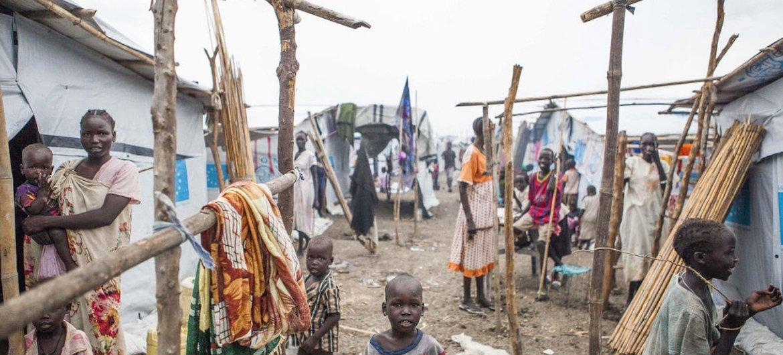 Campamento de Protección de Civiles de la ONU en Malakal, Sudán del Sur. Foto: OIM/Bannon
