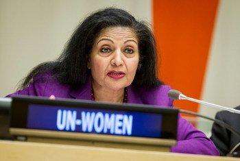 联合国助理秘书长、妇女署副执行主任普里。