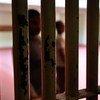 A prison cell.