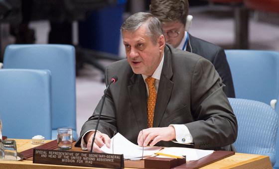Representante especial do secretário-geral, Jan Kubis